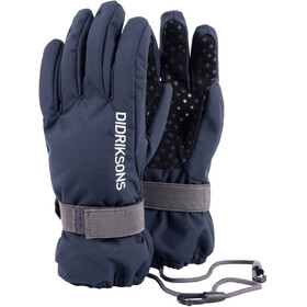 Didriksons 1913 Kids Biggles Five Gloves Navy
